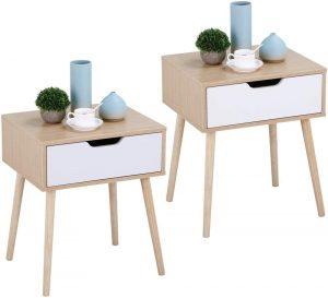 Table de chevet scandinave